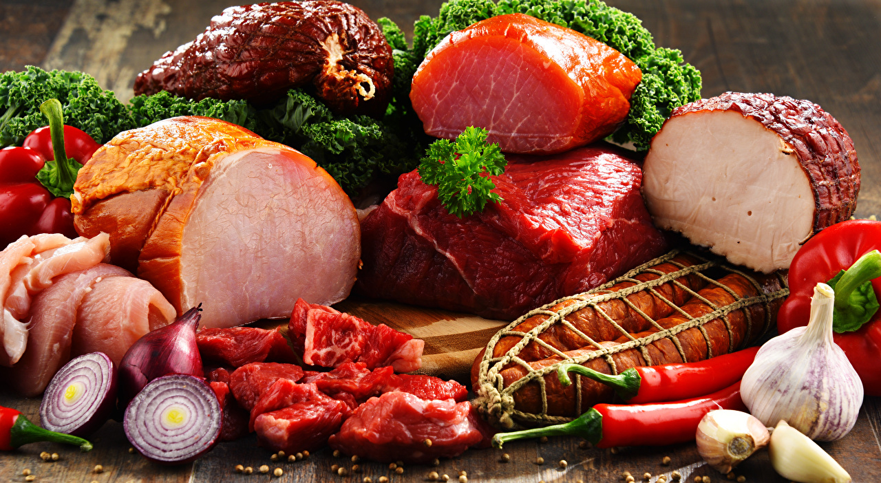 Meat products Ham Garlic Onion Sausage 555299 1280x702